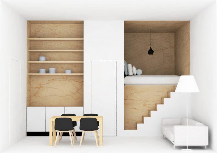 Origineel interieurontwerp sfeervolle loft Amsterdam